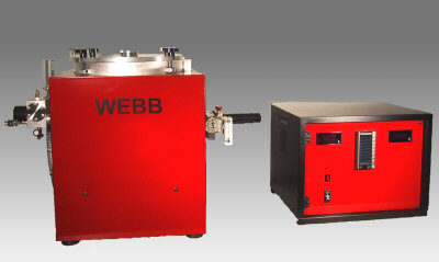 RD Webb Co Air-Cooled Sintering Furnace